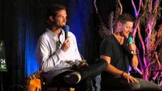 VanCon2014 J2 Panel(clip) - Thomas saying Hi to Uncle Jensen