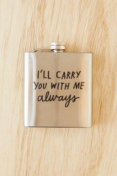 ADAMJK X UO Carry You Flask