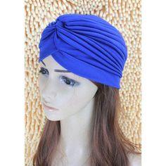 2016 New Fashion Women Turban Hat Bohemia 21 Solid Color Fold Beanies Female Simple Autumn Bonnet Indian Turban Hats For Women