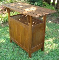 Features:  -National Best Seller.  -2 Tier wood design and equipped with a back storage shelf.  -UV Light Fading Protection.  -Great for outdoor bars or sunrooms.  -Heavy duty and excellent quality.