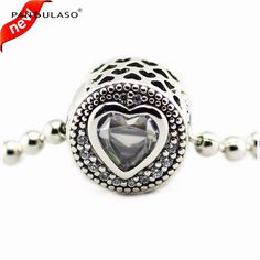 Pandulaso Passion Crystal CZ Essence Beads Fit Charms Silver 925 Original Essence Bracelets DIY Charm Beads for Jewelry Making #Affiliate