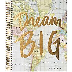 Dream Big Spiral Notebook papersource.com