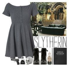 """Casual Wear #1 Slytherin"" by leah1992 ❤ liked on Polyvore featuring Glamorous and Topshop"