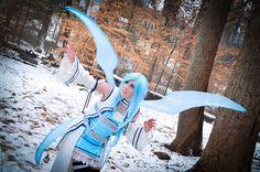 SAO : Undine Asuna Yuuki Cosplay by SkywingKnights.deviantart.com on @DeviantArt