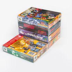 25 MARIO RETRO PROTECTOR CASE FOR N64 SNES BOX