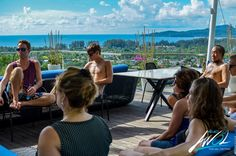 Masterminding on rooftop of mansion in Phuket, Thailand, #Project AWOL