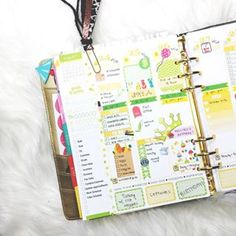 This planner, which meets with its accountant on a regular basis. | 18 Planners That Will Make You Want To Get Your Shit Together