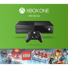 -\*BRAND NEW*/- Microsoft - Xbox One The Lego Movie Videogame Bundle - Black #Microsoft