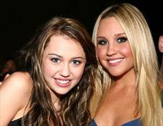 Miley Cyrus and Amanda Bynes - WTF happened! They both turned into freaks.