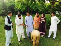Chairman Imran Khan Celebrating Eid-ul-Adha with family .
