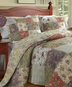 Another great find on #zulily! Beverly Place Bedspread Set #zulilyfinds