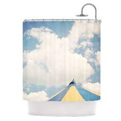 KESS InHouse Carnival Tent Shower Curtain