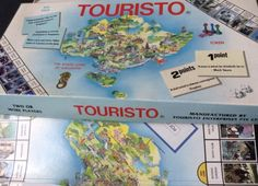 Touristo-The-Board-Game-Of-Singapore-Vintage-1980s-RARE-Complete-Collectors-Item
