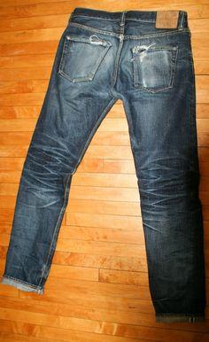 Vintage Jean B3 (Back)