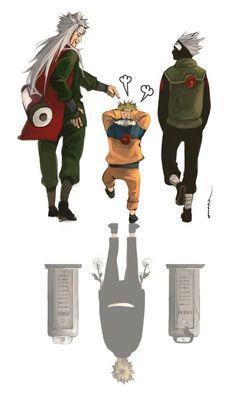NARUTO - Jiraiya, Kakashi by smallshouts // Kakashi? Naruto Comic, Naruto Shippuden Sasuke, Naruto Kakashi, Anime Naruto, Naruto Teams, Naruto Sasuke Sakura, Wallpaper Naruto Shippuden, Naruko Uzumaki, Hinata