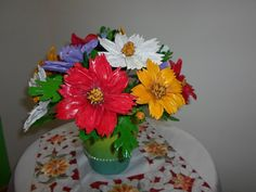 vaso fiori farina di mais,per la casa soprammobile,idea regalo,economico special price, by thaimade, 35,00 € su misshobby.com