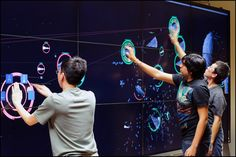 Advanced utilized Prysm's video wall technology along with several . Interactive Timeline, Interactive Exhibition, Interactive Walls, Interactive Display, Interactive Media, Interactive Design, Interactive Projection, Exhibition Booth, Exhibition Space