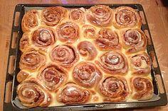 Zimtschnecken 'Cinnabon Style' (Rezept mit Bild) von Bourbie   Chefkoch.de