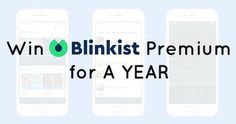 Win Access To 1900+ Book Summaries For A YEAR – Blinkist Giveaway