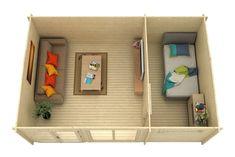 Gartenhaus Atrium-40 E Atrium, Home Office Design, Jacuzzi, Frame, Sauna, Home Decor, Patio, Home And Garden, Roof Trusses