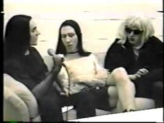 Marilyn Manson & Twiggy on Public Access 1995 (Part 2)