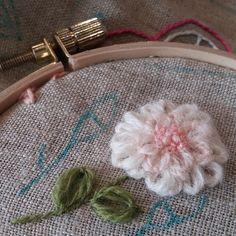 페탈스티치~#꽃자수#프랑스자수 #embroidery#needlework #handembroidery #stiching