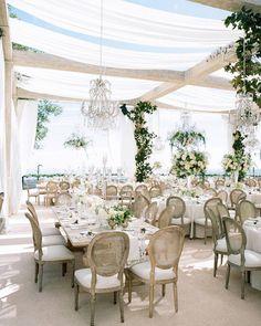 RED - Romantic Outdoor Garden Wedding