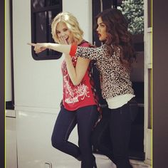Behind the scenes wIth @ashbenzo for BONGO - @lucyhale89- #webstagram
