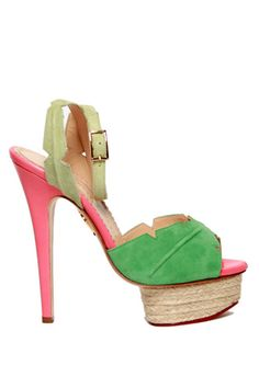 I need a loan for these shoes but I love them! Charlotte Olymia Isla Pump.