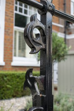 Beautifully crafted railings with decorative designs can add an elegance & style to your front garden project. We have various styles available & can recommend the best suit for your tastes. Book a call with one of our garden design team on our website.