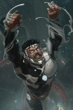 Superior Iron Man by Memed on DeviantArt Marvel Comic Universe, Marvel Art, Marvel Heroes, Marvel Comics, Thor Marvel, Iron Man Art, New Iron Man, Power Rangers, Superior Iron Man