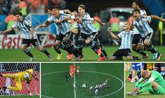 Holland 0-0 Argentina (2-4 pens): Romero is shoot-out hero