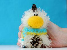 Chicken  Symbol 2017 New Year  OOAK miniature artist toy