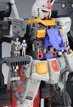 《Wonder Factory》MG RX-78-2 ver3.0加小惠子整备架~~~~ - 高达 科幻模型 - 小T