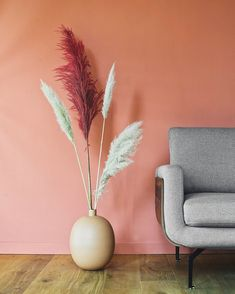 Rich yet soft, eye-catching hue is a timeless and versatile addition to your interior design. Named after the soil beneath our… Interior Walls, Interior And Exterior, Interior Design, Red Paint Colors, Art Haus, Paint Shades, Metallic Wallpaper, Farrow Ball, World Of Color