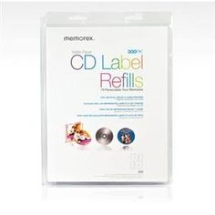 NEW CD/DVD White Matte Labels- 300 (Blank Media) by Memorex. $27.58. CD/DVD White Matte Labels- 300 (Blank Media).