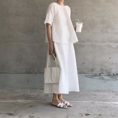 • minimal look #shooting #shoes #style #fashion #white #dress