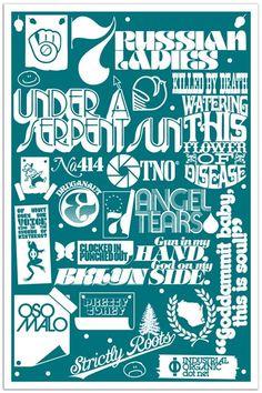 Typography - Typography - Justin Thomas Kay... Typography design & inspiration  Preview – Work    Description  Justin Thomas Kay  – Source –