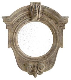 Livie Accent Mirror, Beige | Brilliant Reflections | One Kings Lane
