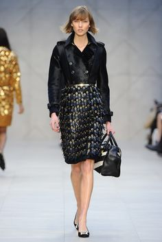 Burberry Prorsum RTW Fall 2013 - Slideshow - Runway, Fashion Week, Reviews and Slideshows - WWD.com
