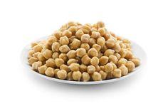 Informação Nutricional - Grão de bico. Calorias, gorduras totais, saturadas, trans, colesterol, sódio, carboidratos, fibras, açúcar, proteínas, ferro, zinco