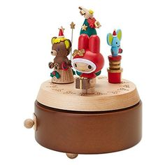 Sanrio My Melody Wooden Music Box * You can find out more details at the link of the image.