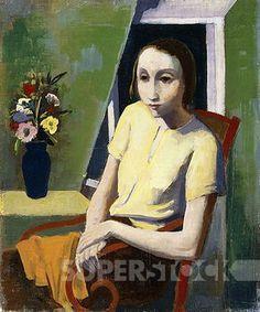 Madchen in der Kammer. Karl Hofer (1878-1955) 1937