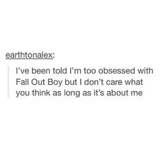 "This is me on a daily basis when the kid next to me points out my unhealthy FOB ""obsession"". Pshh I'm just overly passionate."
