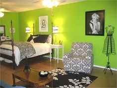 Here is my idea for Jas's room but pink instead of green