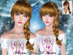 Female Hair by Skysims  http://www.thesimsresource.com/downloads/1172969