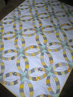 """Sew Kind Of Wonderful: Finished """"Metro Rings""""!! Quick curve ruler"""