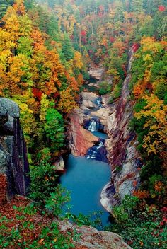 Tallulah Gorge, GA in #Fall - LOVE