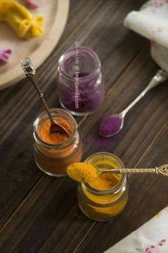 自製蔬菜粉 ~ 南瓜、紅蘿蔔、紫薯【天然色素】Homemade Vegetables Powder