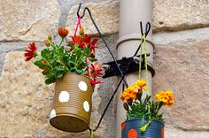 Mother's Day is almost here! Show your love with a DIY project, like these hand-painted flower pots.